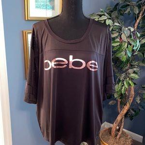 BeBe black jersey material top